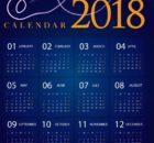 2018 Calendar Templates