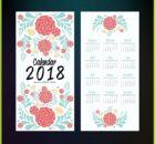 2018 USA Calendar Design