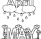 April Showers Bring May Flowers Images Black and White