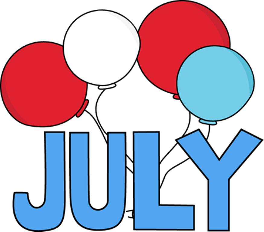Clip Art for July