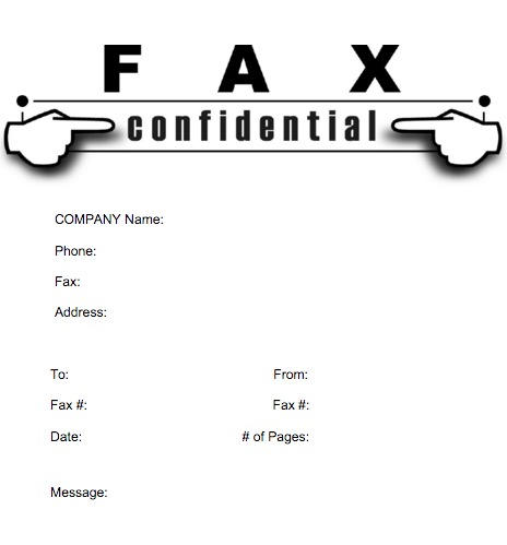 Fax Cover Sheet Pages Mac