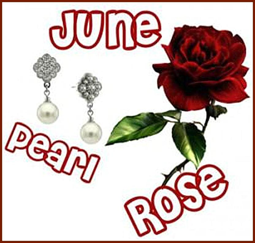 Flower and Birthstone For June
