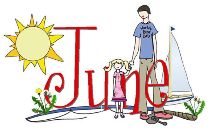 Free June Clip Art Images