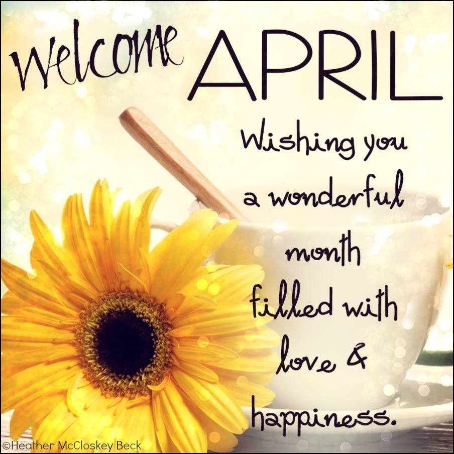 Goodbye April Hello May Flower Images