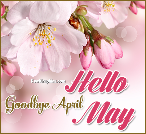 Goodbye April Hello May Flower
