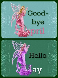 Goodbye April Hello May Images