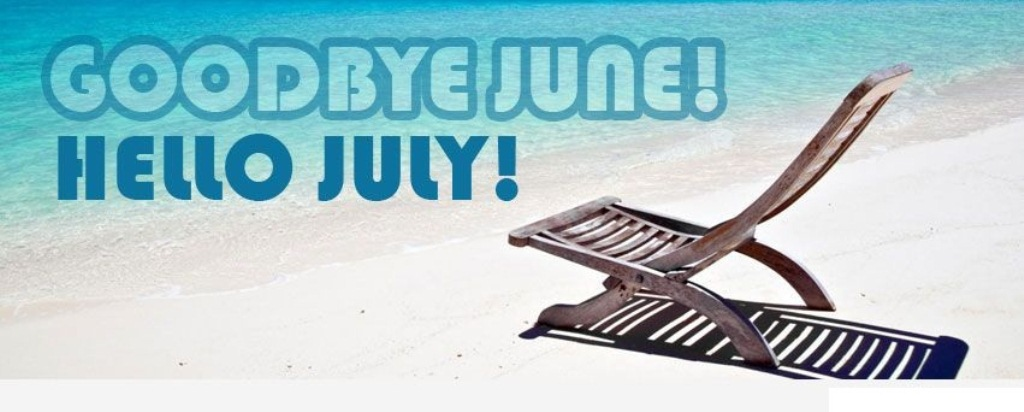 Goodbye June Hello July Images