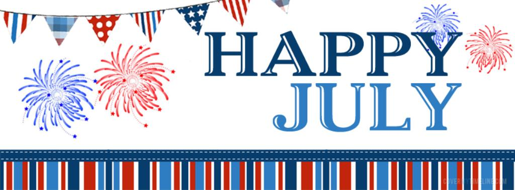 Happy July Clip Art