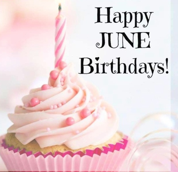Happy June Birthday Images
