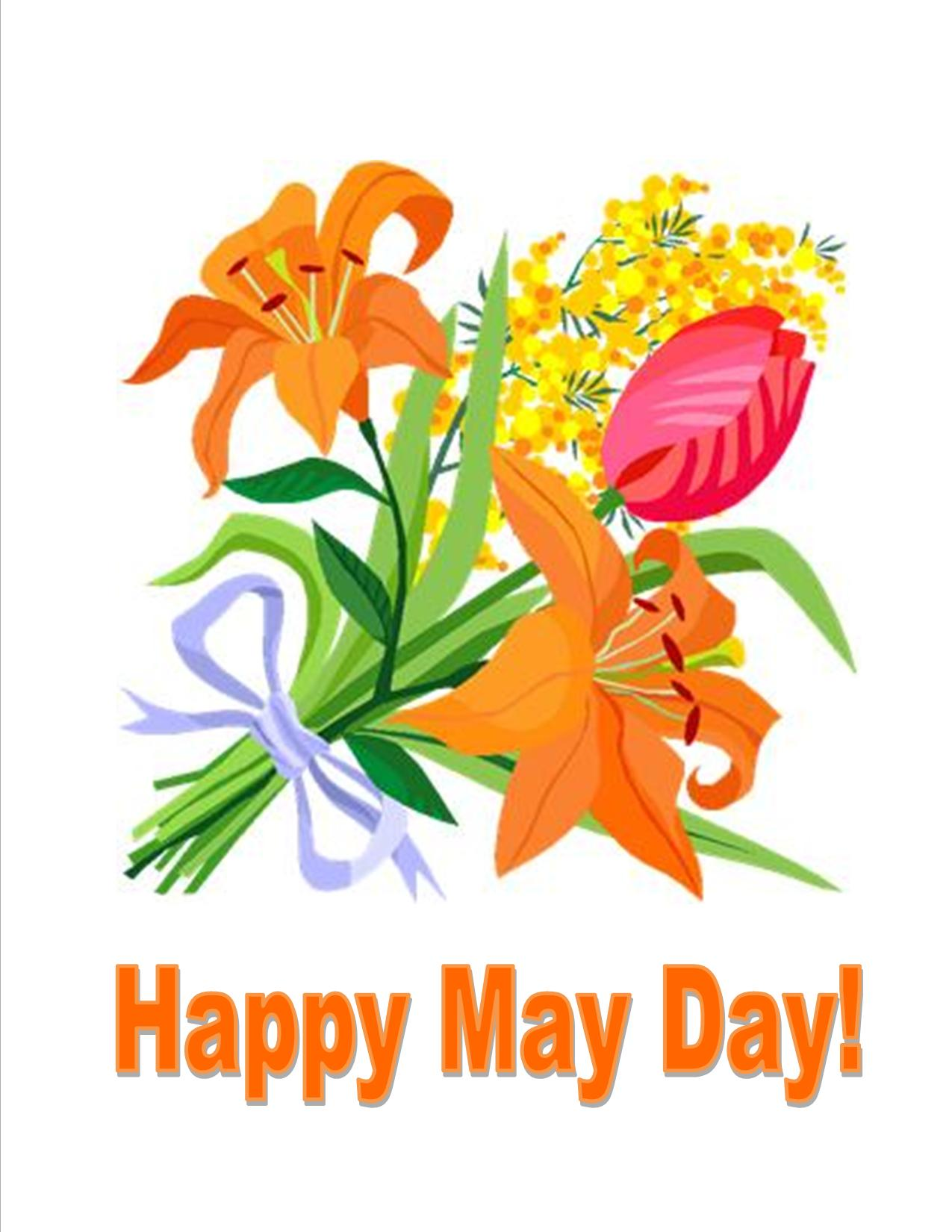 happy may day images pictures photos clipart rh ifreeprintablecalendar com may day flower clipart happy may day clipart