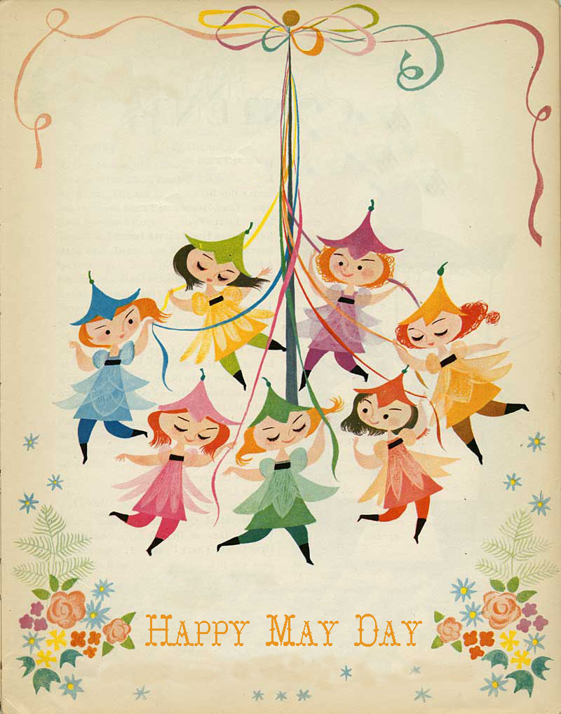 Happy May Day Clipart Images