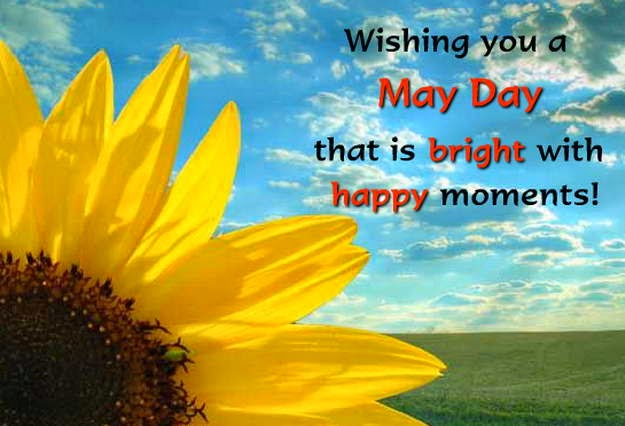 Happy May Day Greeting Card