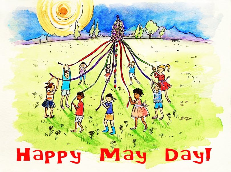 Happy May Day Images Cute