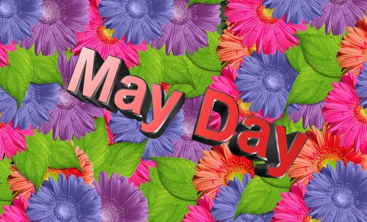 Happy May Day Images HD Wallpapers