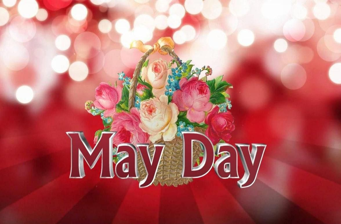 Happy May Day Wallpaper