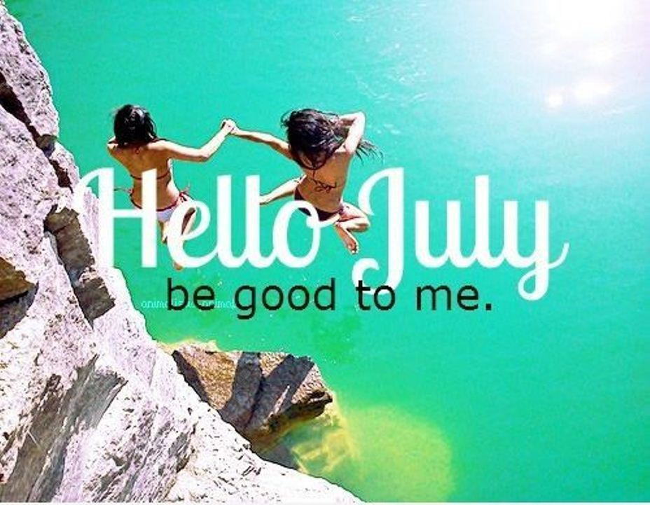 Hello July Best Friends
