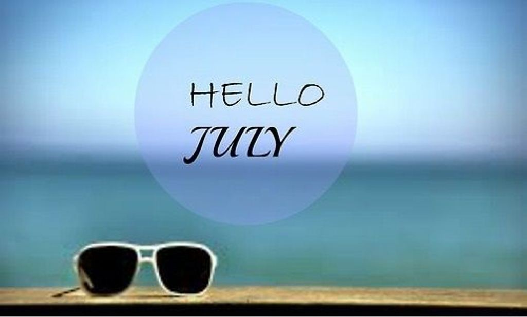 Hello July Cool Images