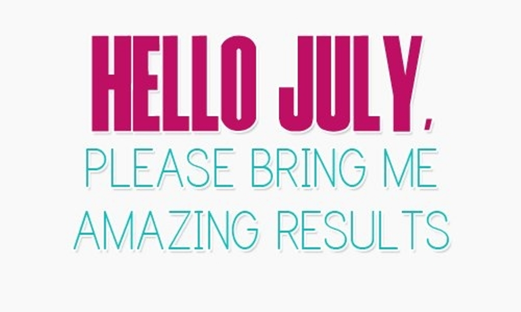 Hello July Facebook Quotes