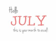Hello July Quotes Wishes Messages