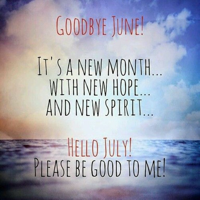 Hello July Quotes and Images