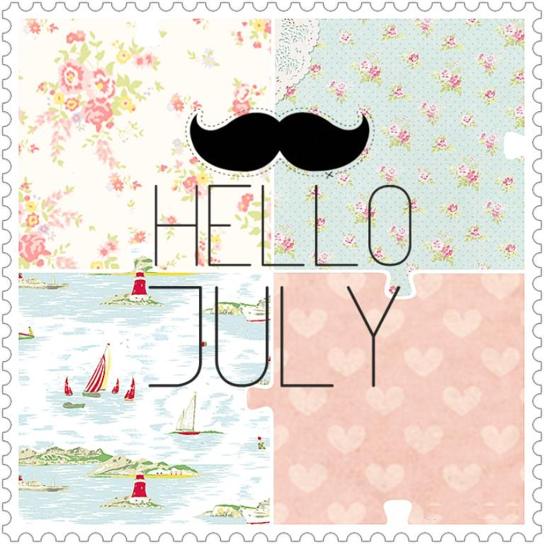 Hello July Wallpaper For Boys