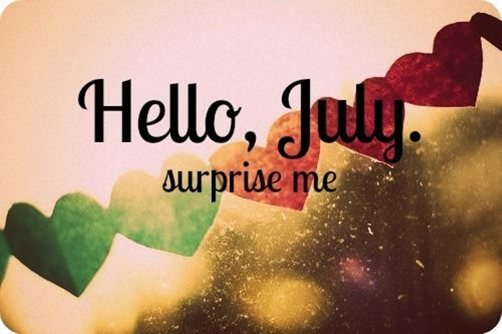 Hello July Wallpaper For Facebook