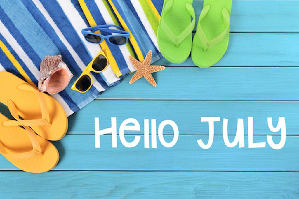 Hello July Wallpaper for Whatsapp