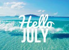 Hello July Wallpaper Summer