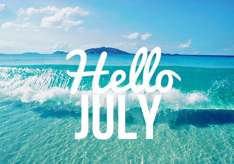 Hello July Wallpaper Summer