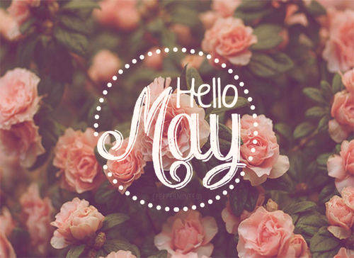 Hello May Flower Images