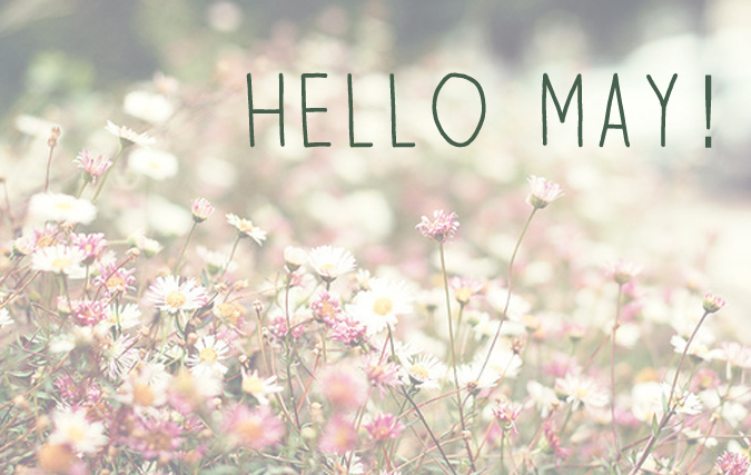 Hello May Happy Wallpapers