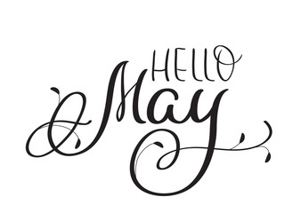 Hello May Images Black and White