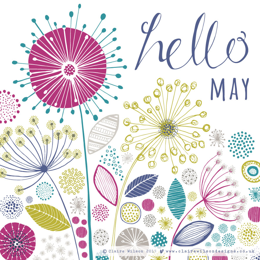 Hello May Images Pinterest