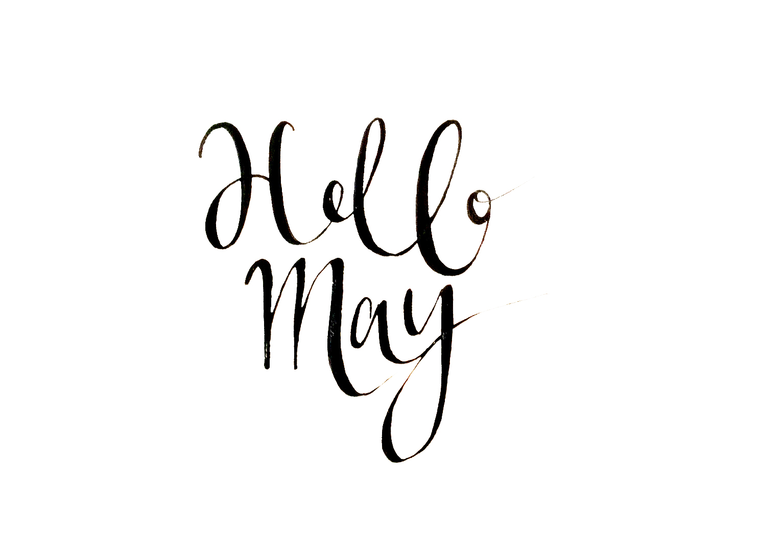 Hello May Quotes Banner