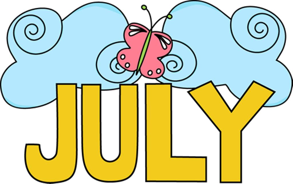 July Clip Art For Kids