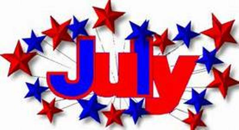 July Clip Art