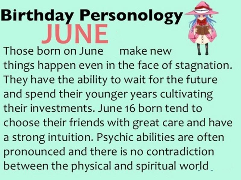 June 2018 Birthday Quotes