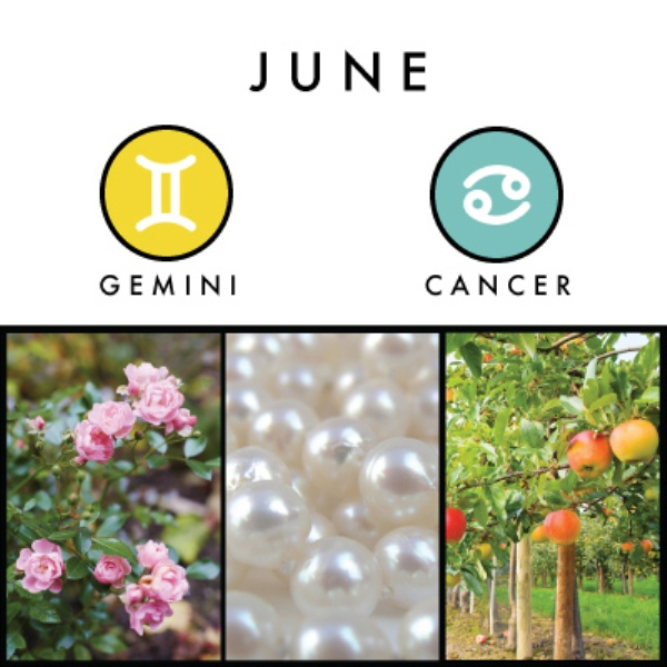 June Birth Symbol, Flower, Stone