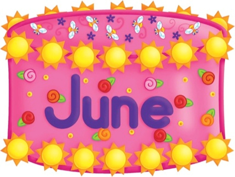 June Birthday Clip Art