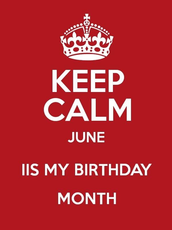 June Birthday Month