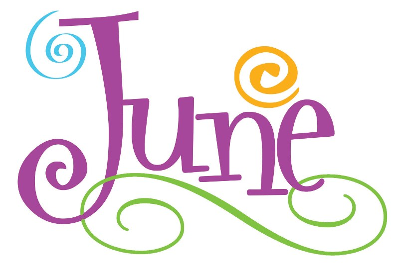 June Clip Art Download