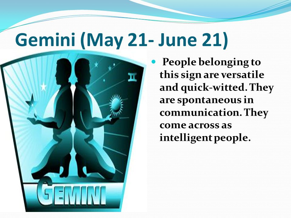 June Gemini Sign