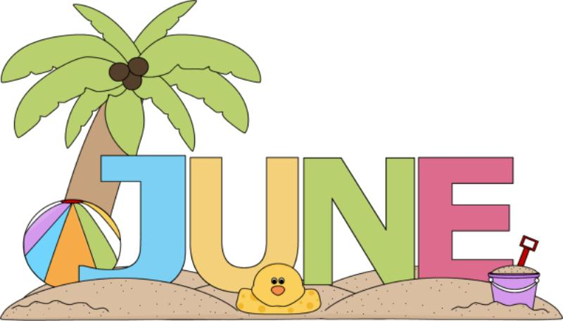 June Holidays Clip Art