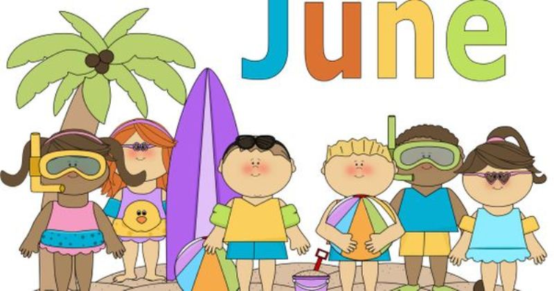 June Picture Clip Art For Kids