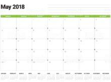 May 2018 Calendar Malayasia Holidays