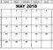May 2018 Calendar In Excel