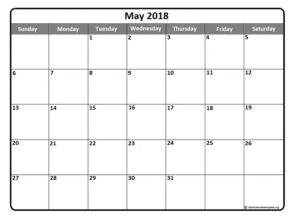 May 2018 New Zealand Calendar
