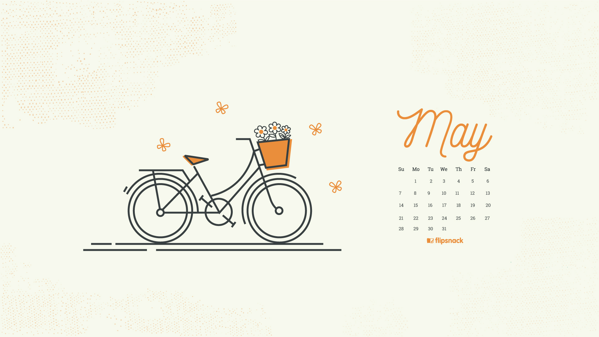 May 2018 Wallpaper Calendar