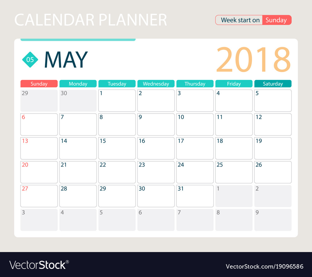 May 2018 Wallpaper Desk Calendar