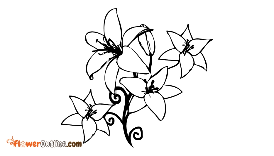 May Birth Flower Tattoo